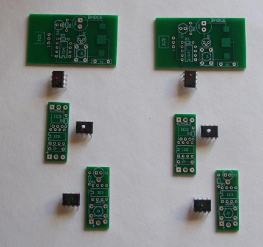 Wizards Wands PCB & Chip (Double Set)