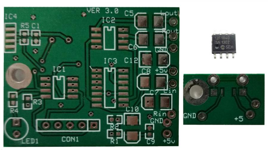 Volume Controller PCBs and Programmed Chip Set