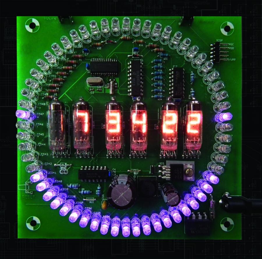 Numitron Clock Kit
