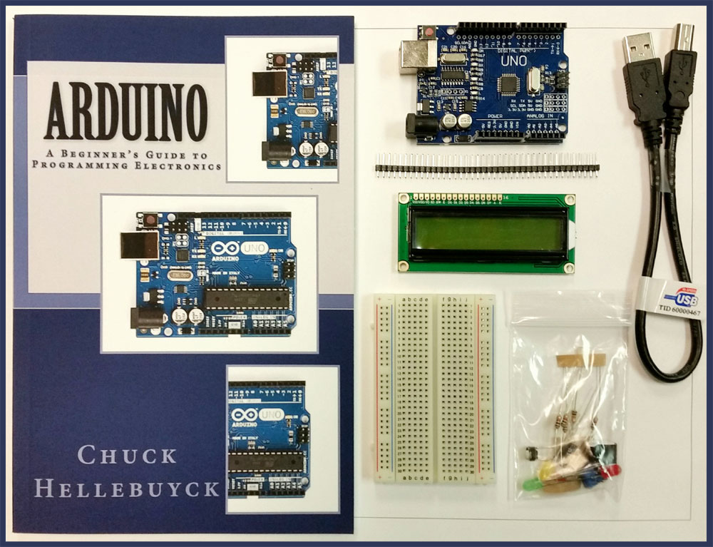 Arduino a beginner s guide to programming combo nuts and