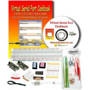 Virtual Serial Port Cookbook & Kit Combo