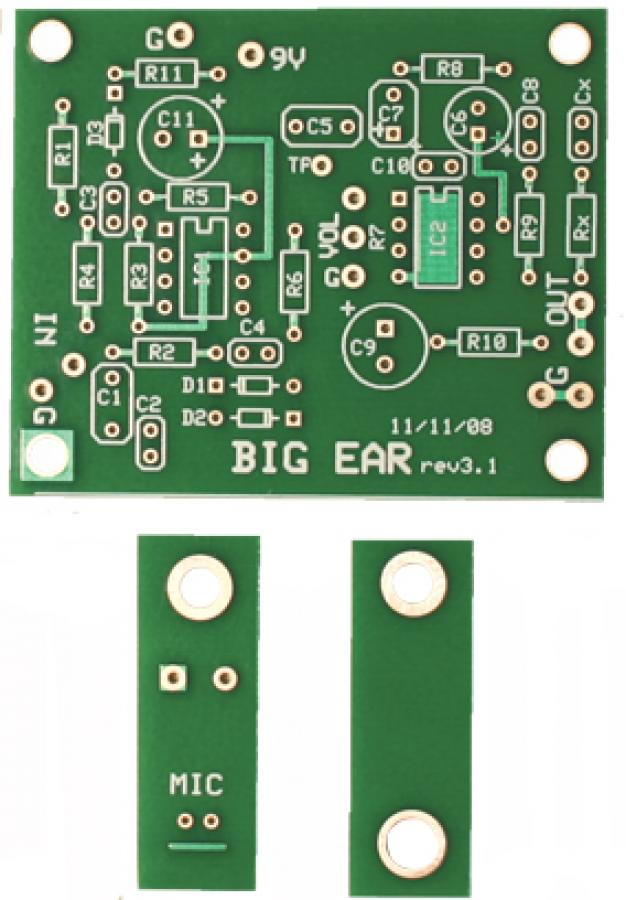 Big Ear PCB Set
