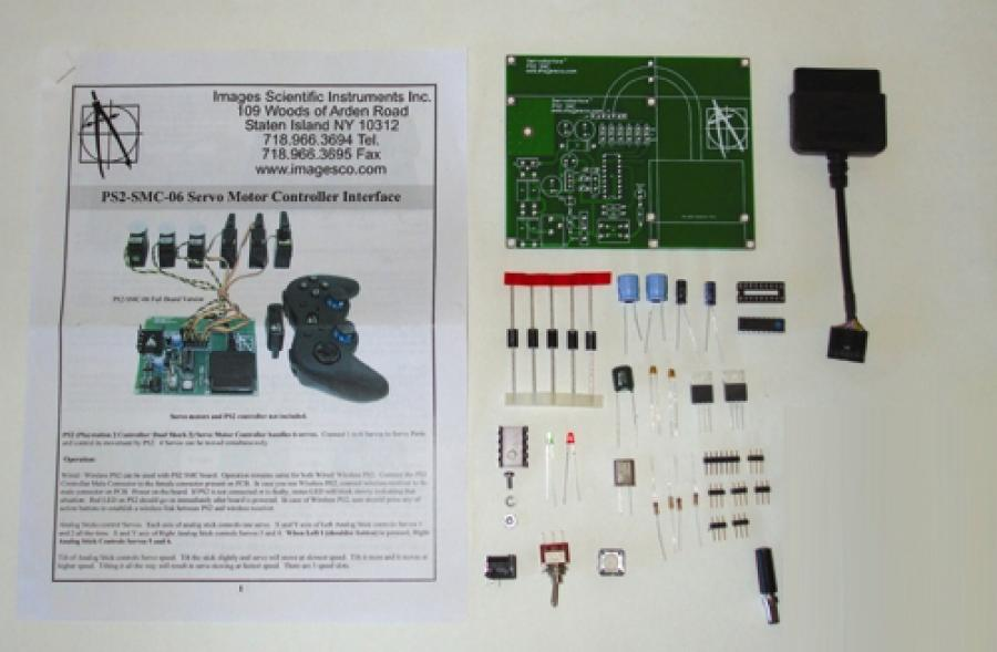 PlayStation Servomotor Controller Interface Kit 5AMP
