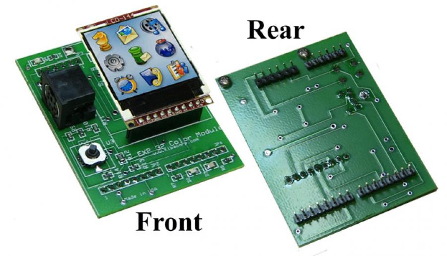 Carrier Board with Display Module