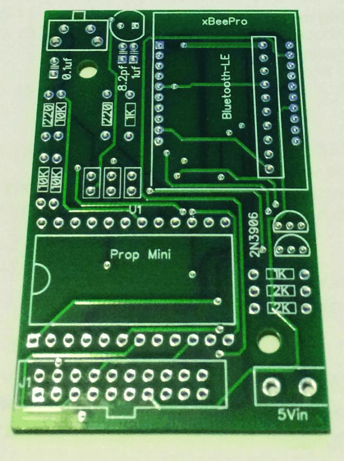 The ZB-LED PCB for SmartThings and the Device Maker