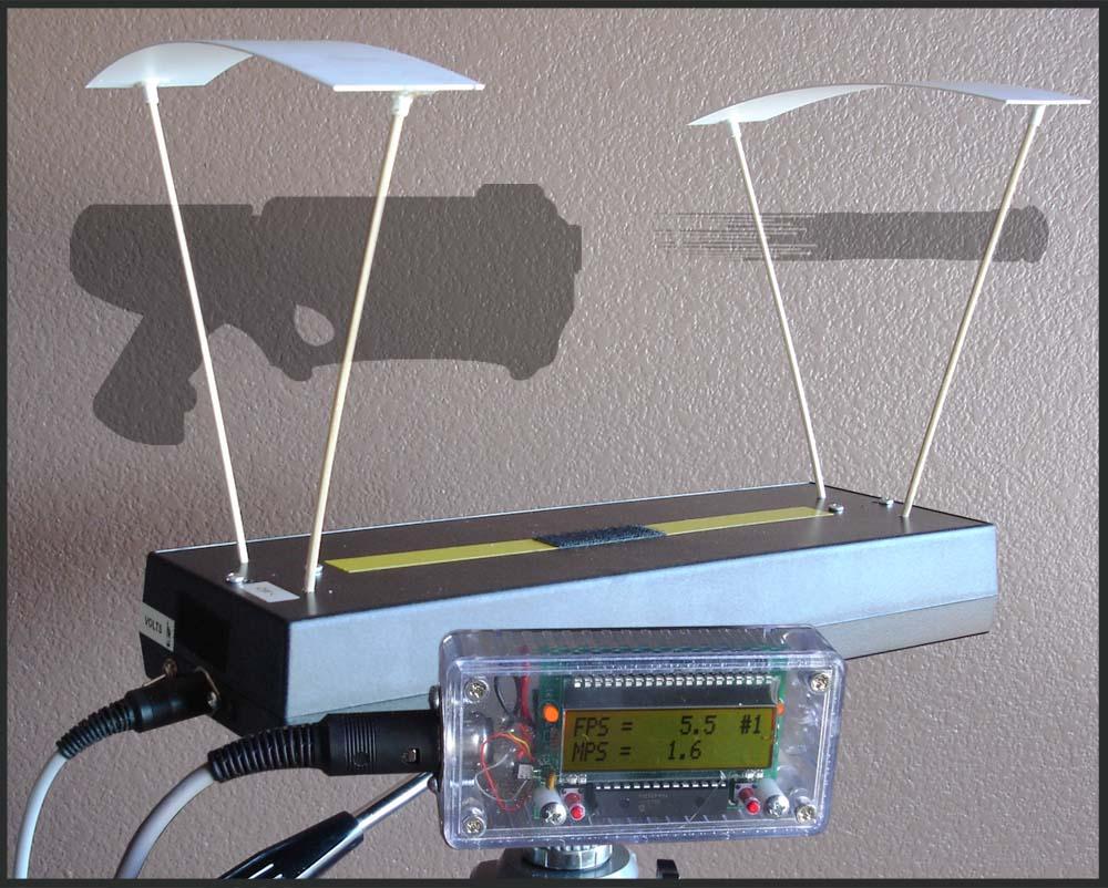 Ballistic Chronograph Kit The Junkbox For Electronics
