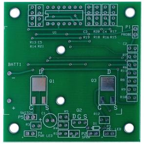 Continuity Tester PCB