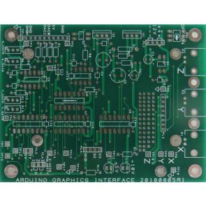 The Ardunio  Graphics Interface (AGI) PCB