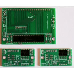Ballistic Chronograph PCBs and Programmed Chip Set