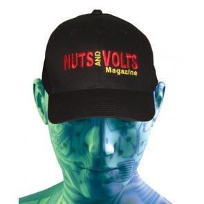 Nuts & Volts Custom Embroidered Hat