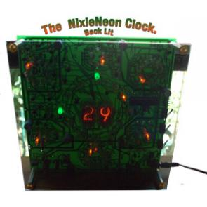 NixieNeon Clock Kit