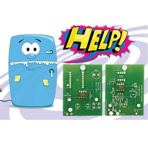 Wireless Freezer Alarm PCB & Programmed Chip Set