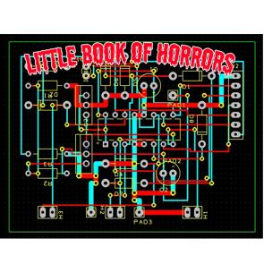 Little Book of Horrors PCB