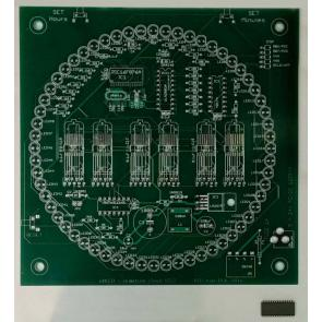 Numitron Clock PCB and Programmed Chip